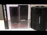 Monster BTW249 Indoor Outdoor Bluetooth speaker Review and Open Box