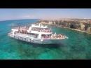Прыжки со скалы в море. Кипр