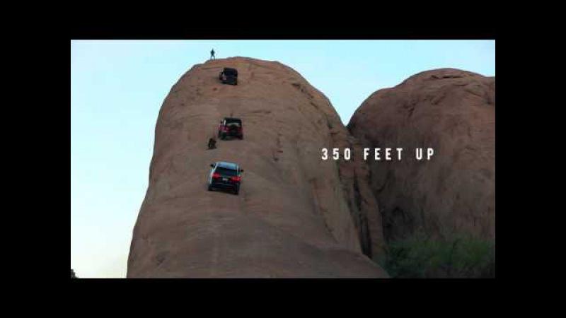Три Jeep покоряют самую крутую вершину пустыни Моаб