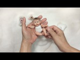 Mini Baby Clay (V21) - Sculpted a Mini Pose-able Baby Polymer