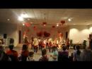 Выступление в шоу программе группы EXCITE Леди в красном