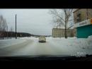 водитель УАЗа не рассчитал скорость и тормозной путь