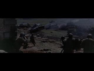 Взятие немцами города Амблев (Битва в Арденнах)