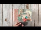 Чудесный мини-альбом из бумаги Photo Play