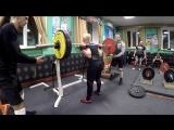 Инна Филимонова - присед 130 кг на 10 повторов