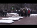 1100 Торжественное возложение цветов к памятнику пожарным, спасателям и ветеранам МЧС России в честь Дня спасателя