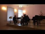 Л.В. Бетховен Квартет #4 до минор, 1 часть