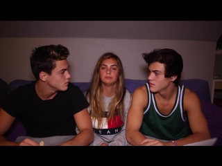 NEVER HAVE I EVER ft. Our Sister -- Dolan Twins