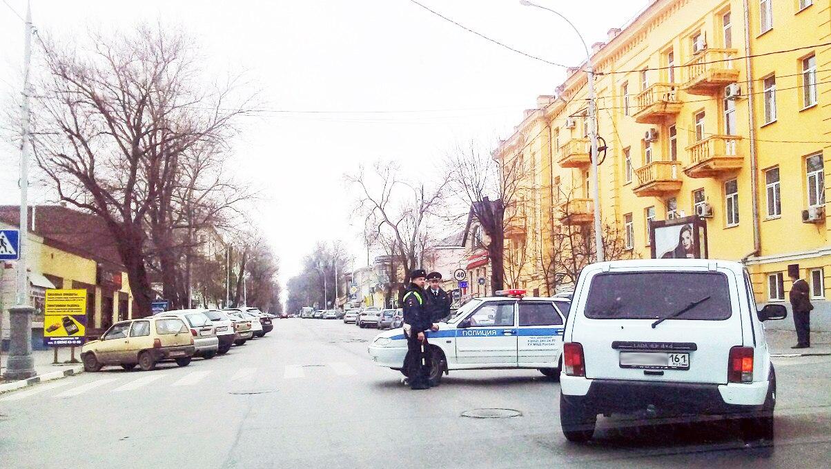 В Таганроге из-за подозрительной сумки была оцеплена улица Петровская