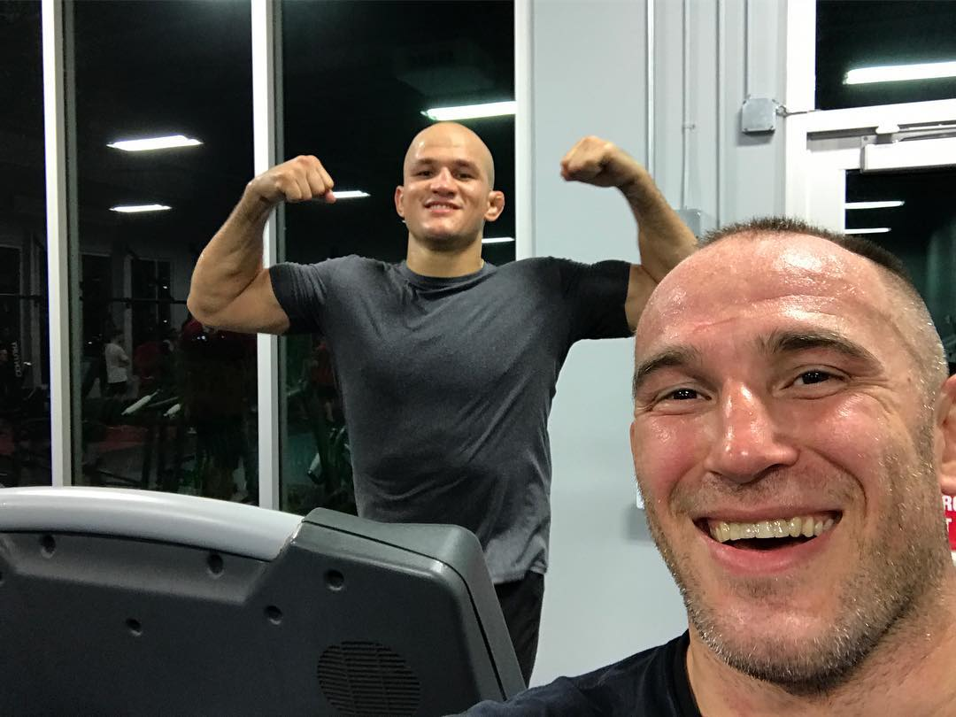 Джуниор Дос Сантос и Алексей Олейник