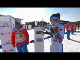 Лыжное о. чемпионата мира - 2017. женщины. средняя дистанция