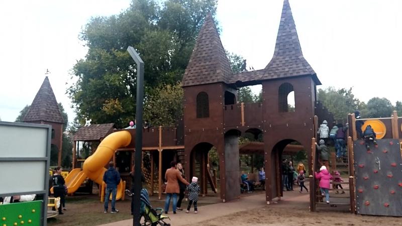 стимпанк замок в Заинске