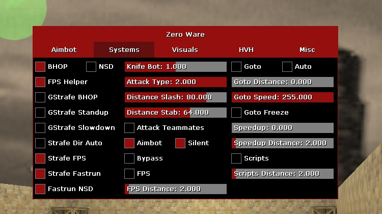 скачать zero ware cs 1.6 бесплатно