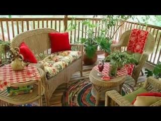 Мебель для сада и дачи_фото идеи обустройства