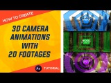 After Effects : 3D Camera Animation With 2D Images Tutorial by Dope Motions™