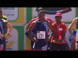 Akani Simbine Jogs a 10.06 to win men's 100m Heats SA Championships 2017