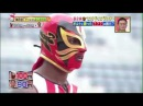 Justin Gatlin vs Japanese Comedian (10m handicap)
