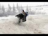 Снегоходы Polaris Indy SP 600 и Lynx Ranger 900 ACE