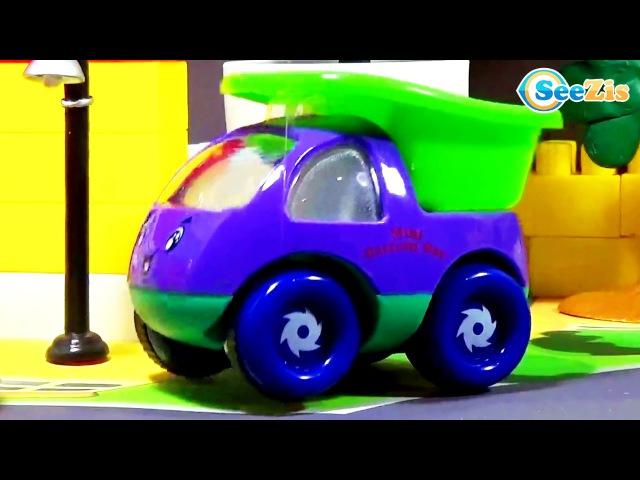 Мультики про Машинки! Грузовичок Томми и Малыши Машинки! Гоночную машинку спаса ...
