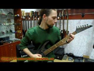 ( 0666 ) Бюджетная электрогитара от Салона Гитар и Комплектующих Maestro