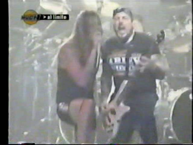Biohazard Skid Row - Parasite (KISS cover) Live in Argentina