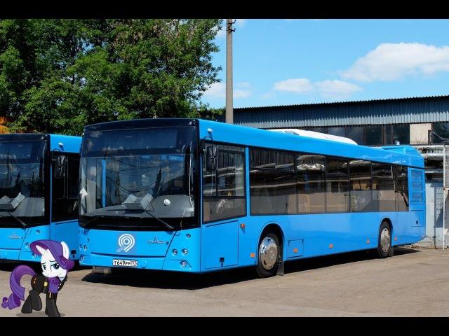 Поездка на автобусе МАЗ-203.069 Т 649 РР 777 Маршрут № 658 Москва
