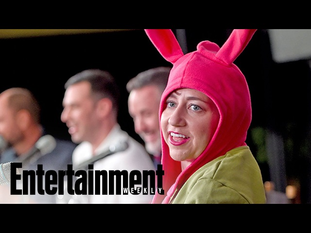 Bob's Burgers Live Table Read With Voice Acting Cast | PopFest | Entertainment Weekly