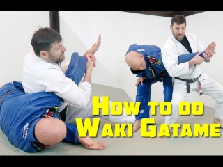 How to do the 'Waki Gatame' Armlock Standing and on the Ground how to do the 'waki gatame' armlock standing and on the ground