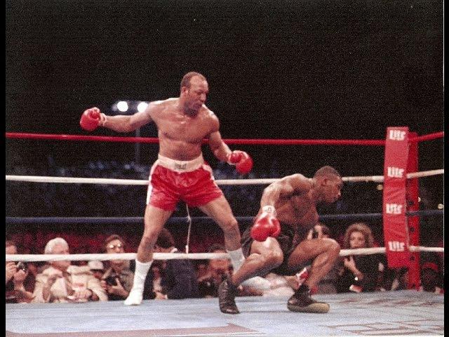 Мировой бокс. Майк Тайсон - Джеймс