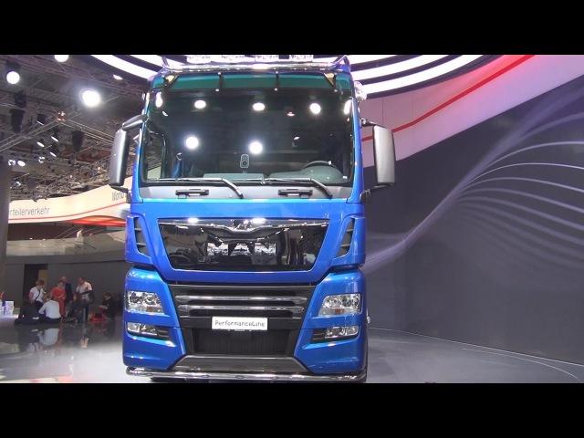 MAN TGX 18.640 D38 PerformanceLine Tractor Truck Exterior and Interior in 3D