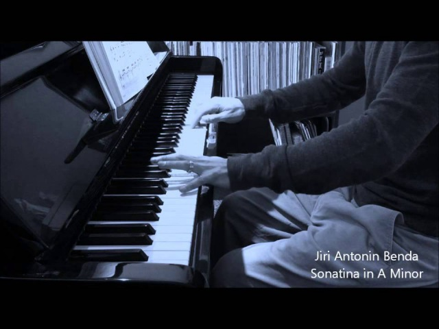 Sonatina in A Minor - Benda - Faber Developing Artist - Christopher Brent, piano