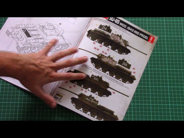 Miniart 1/35 Su-85 Mid Production Interior Kit (35187) Review