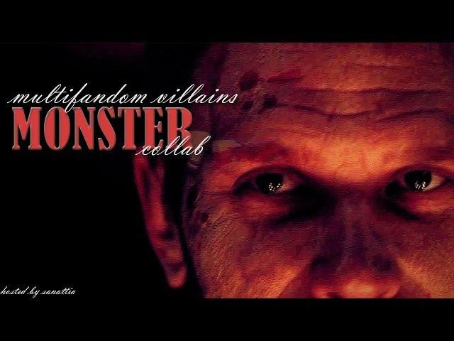 Multifandom villains - monster collab