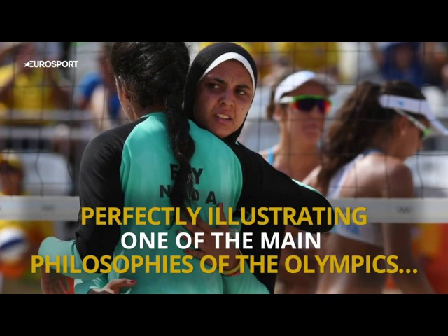 Inspirational Athletes at Rio 2016 Doaa Elghobashy