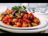Турецкий салат из баклажан.Супер вкусный и простой салат из овощей.