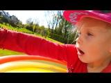 ВЗОРВАЛИ ОГРОМНЫЙ  ШАР ! Страшно и ОПАСНО  МАЙНКРАФТ Оцелот и гаст Видео для детей