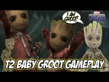 Marvel Future Fight T2 Baby Groot Gameplay Build +Story10-8, TL, VS Hard, TU, WBI, World Boss