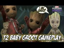 Marvel Future Fight T2 Baby Groot Gameplay Build Story10-8, TL, VS Hard, TU, WBI, World Boss