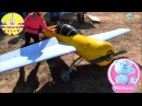 Yaroslava with Doll Nenuco. Walk on the airfield. Educational Video for children. Dolls for girls