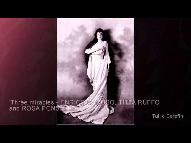 Rosa Ponselle - Ritorna vincitor /about her - cleaned by Maldoror