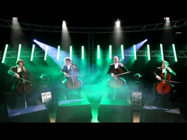 'Pirates of the Caribbean': 'One Day' 'He's a pirate' quattrocelli cello quartet