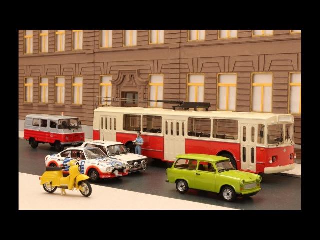 Stop motion autós üldözés a '80 as évek Budapestjén keresztül stop motion car chase