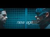 Bucky x Steve new age