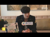 170412 EXO Lay Zhang Yixing 张艺兴 @ Operation Love Backstage Interview