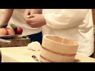 Производство японских ножей Samura