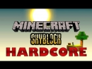 Выживание в Minecraft. Майнкрафт хардкор скайблок. часть 1. Генератор булыжника.