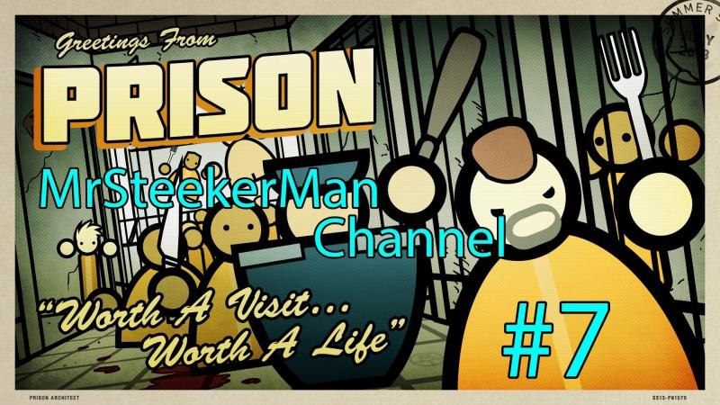 Prison Architect - (7) Тюремная жизнь