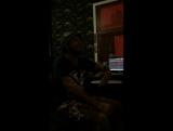 На студии