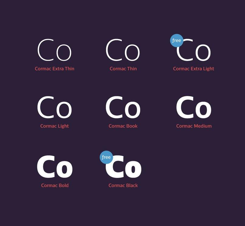 Download Cormac font (typeface)