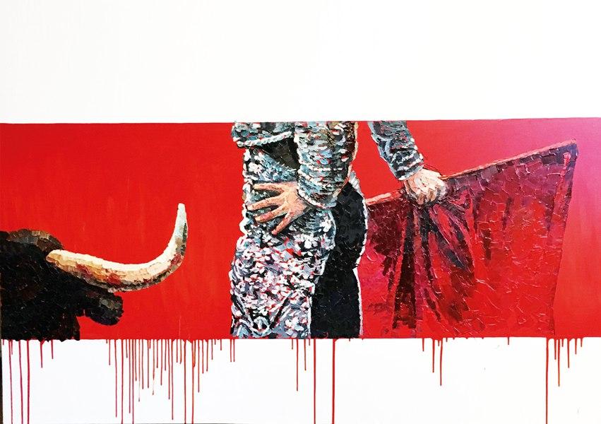 Выставка Коррида. Арт-галерея Мануфактура